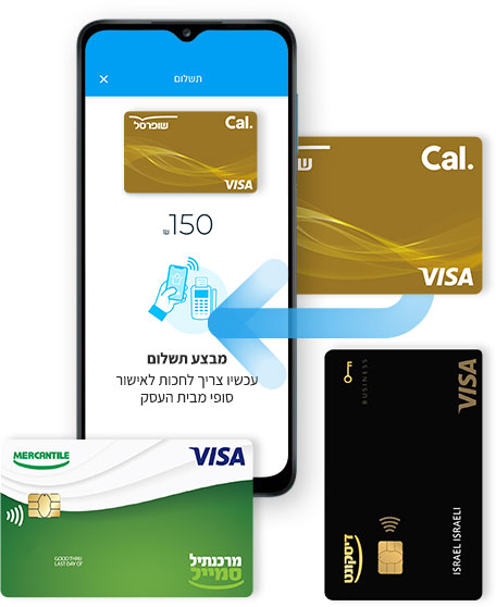 משלמים בחנויות עם הארנק הדיגיטלי של PayBox בכרטיסי אשראי מפתח דיסקונט, שופרסל ומרכנתיל